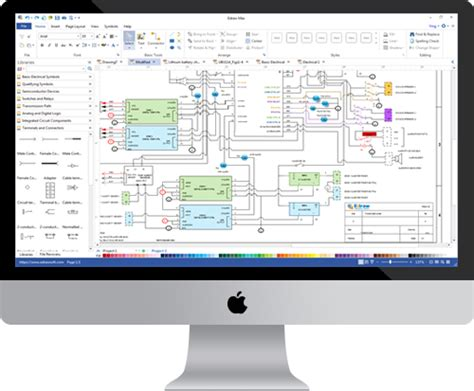 mac diagramming software circuit diagram software for mac