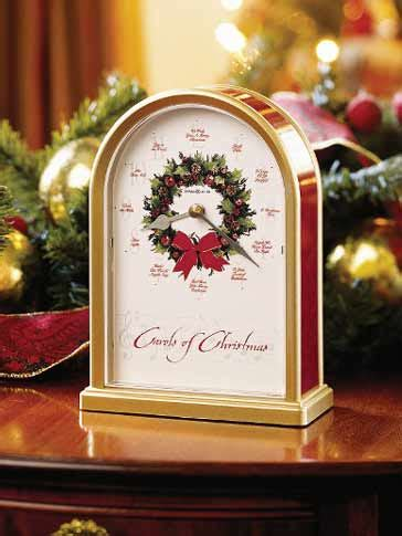 christmas clocks howard miller   carols  christmas ii clock