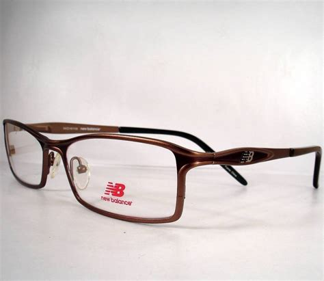 new balance 395 brown eyeglasses eyewear new frames