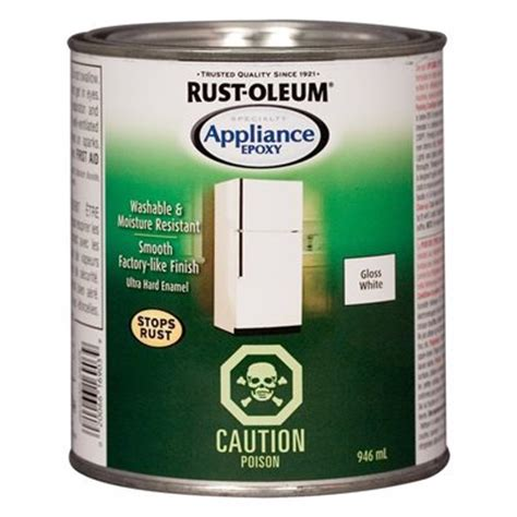 rust oleum 946ml white specialty appliance epoxy lowe s canada