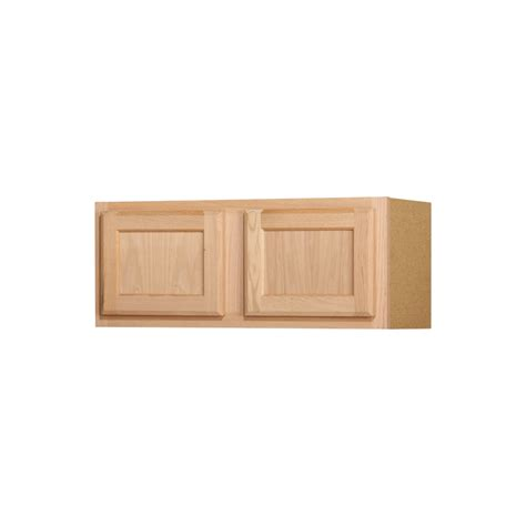 Kitchen Cabinet Unfinished Shop Kitchen Classics 12 In X 30 In X 12 In Oak Unfinished Door Kitchen Wall Cabinet At