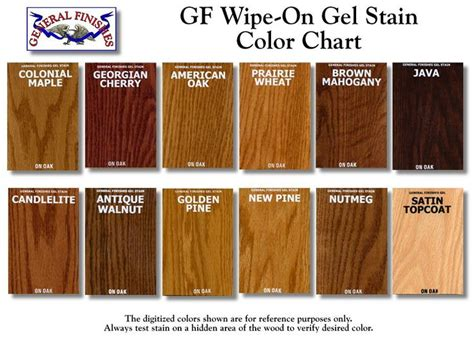 different stain colors best 25 wood stain colors ideas on stain