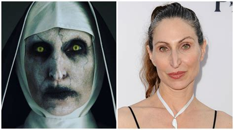 the nun cast actress meet the nun star bonnie aarons who s been giving you