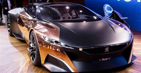 Lu Pintu Led peugeot onyx supersport car hybrid masa depan majalah otomotif