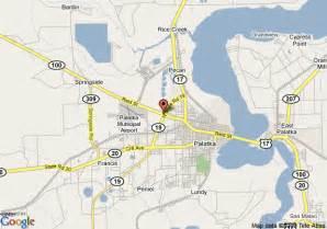 where is palatka florida on a map map of sleep inn suites palatka