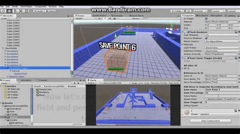 unity layout save easy save load creating new save point unity 3d youtube