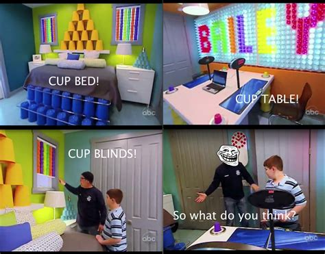 Extreme Makeover Home Edition daughter wanted a mario bros themed room so that s what