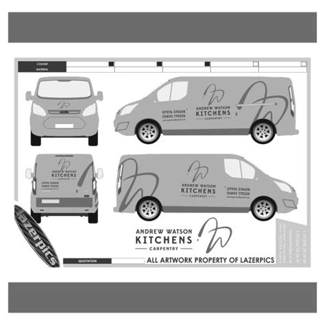 vehicle graphics vinyl wrapping van livery sign