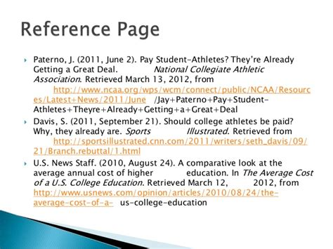 Paid Essays by Essays Payment Of College Athletes