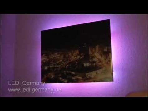fernsehbeleuchtung led led beleuchtung f 252 r fernseher m 246 bel produkt demo