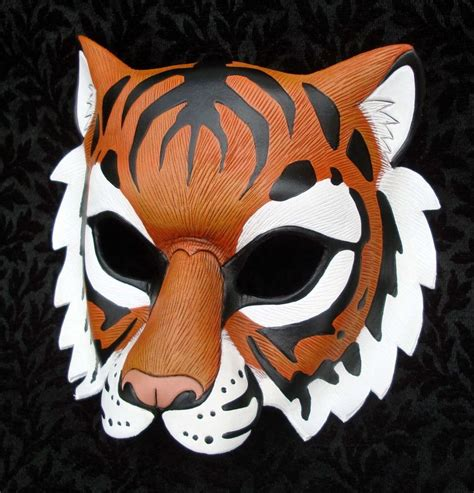 How To Make A Tiger Mask Out Of Paper - images