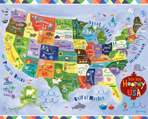 usa map puzzle printable show and tell february 2014