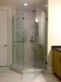 frameless neo angle shower enclosures