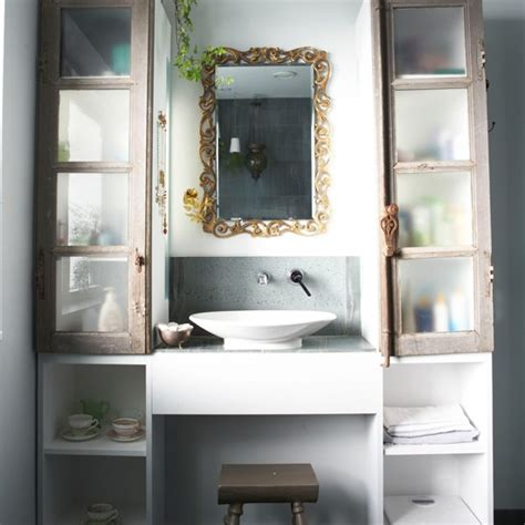 Stylish Bathroom Storage Bathroom Storage Traditional Bathrooms Housetohome Co Uk