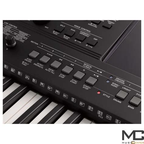 Keyboard Yamaha E463 Yamaha Psr E463 Keyboard 5 Oktaw Z Dynamiczn艱 Klawiatur艱 Musiccenter Pl