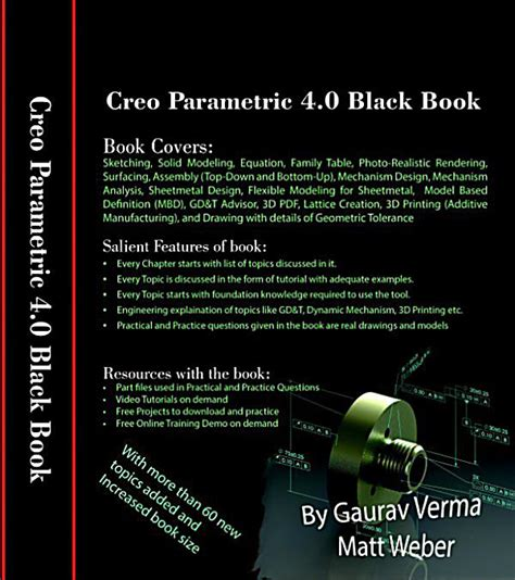 creao parametric 4 0 for designers books creo parametric 4 0 black book ebook jetzt bei weltbild de
