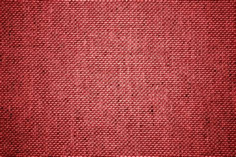 Red Upholstery Fabric Close Up Texture Picture Free