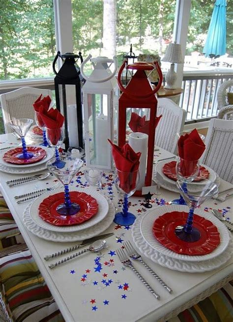 4th Of July Table Decoration Ideas by 4th Of July Quot Table Decorations