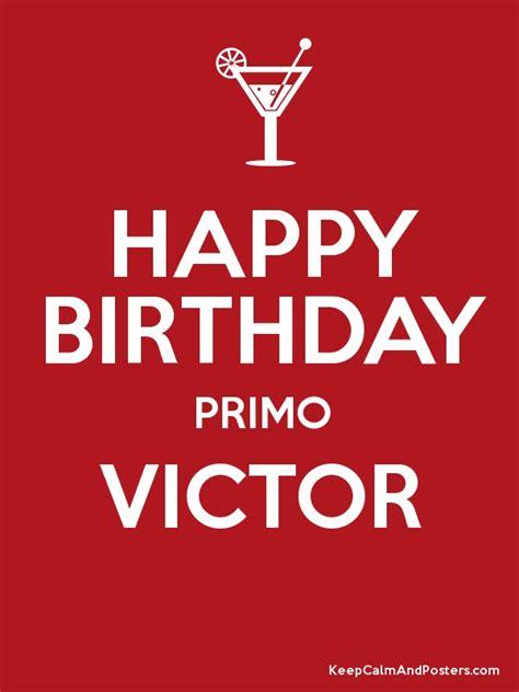 imagenes de happy birthday victor happy birthday primo victor poster