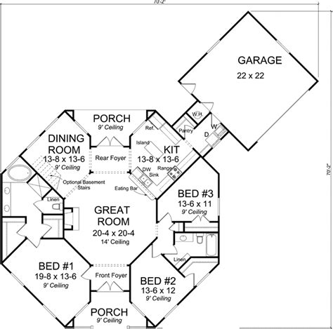 octagonal house plans 2 story octagon house plans style house plans 1793
