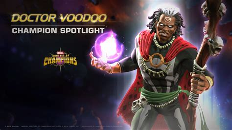 champion spotlight doctor voodoo marvel contest of