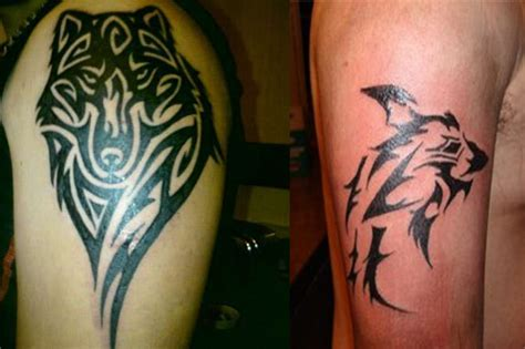 tribal wolf tattoos tattoo designs ideas amp meaning