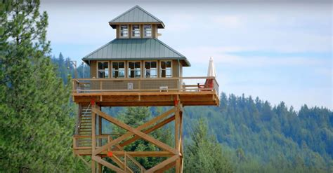 fire lookout tower plans dabney alan s fire lookout tower