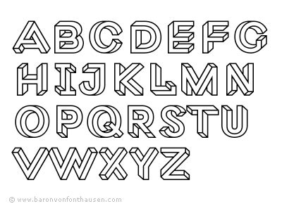 lettere impossibile macula abc by jacques le bailly dribbble