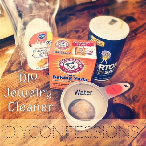 diy jewelry cleaner diy jewelry cleaner diy confessions i did this this