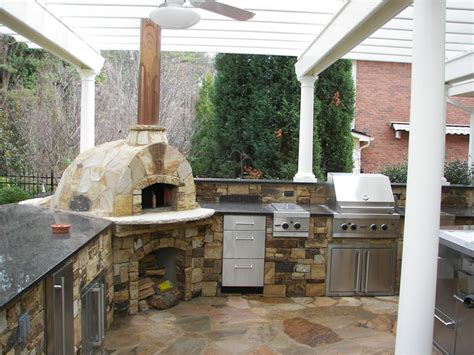 outdoor kitchen designs with pizza oven legacy landscape design call 770 427 2026 landscape