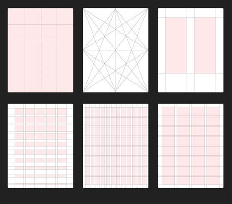 grid layout design ideas best 25 grid design ideas on pinterest grid layouts