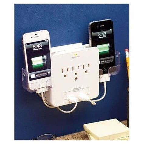 cell phone charging station iphone wall charger outlet