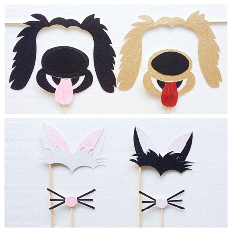 printable puppy dog photo props dog photo booth props dog 143 best ideas about photobooth on pinterest photo booth