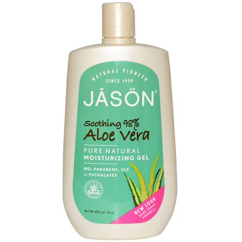 gel aloe vera jason moisturizing gel aloe vera 16 oz 454 g iherb