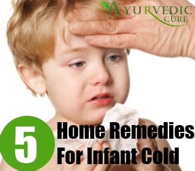 5 infant cold home remedies treatments cure