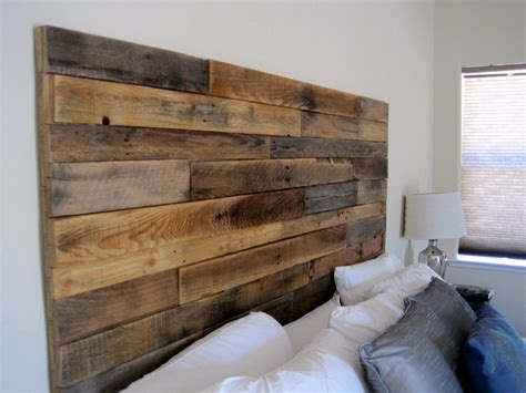 reclaimed wood headboard by elkdesignco on etsy