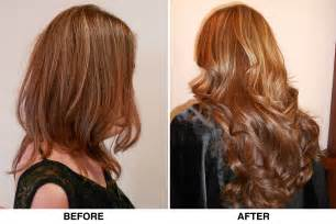 hair extensions for before and after hair extensions modern magazin