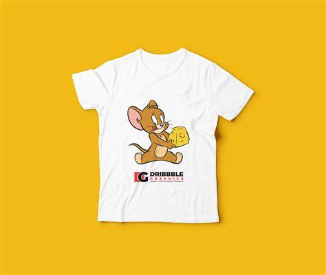 free kids t shirt mockup dribbble graphics