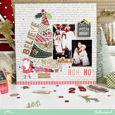 christmas html layout document your traditions with this scrapbooking layout idea and free cut file by