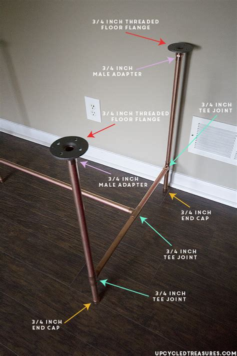 Post L by How To Build A Copper Pipe Desk Mountain Modern