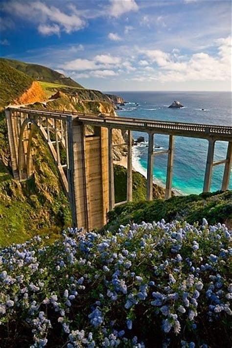 Pch Bridge - pacific coast highway big sur and pacific coast on pinterest