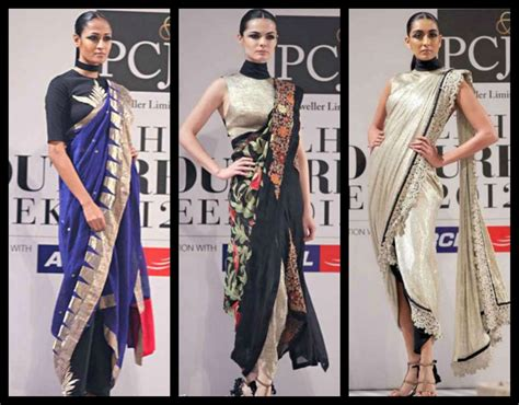 Style Guide The Belt Drape by How To Wear Designer Saree Dhoti Saree Pant Style Saree