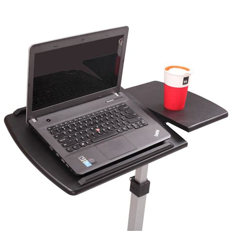 Laptop Tray For by The Bed Table Adjustable Hospital Home Laptop Tray