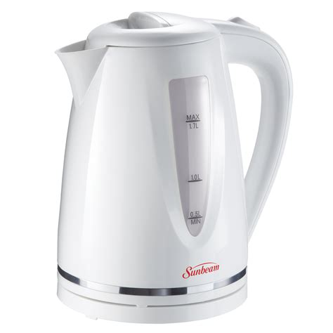 sunbeam kitchen appliances sunbeam 174 1 7l cordless kettle bvsbkt1703 cad master