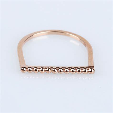 14k gold stacking ring 14k gold band thin gold ring 14k