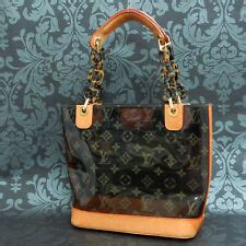 louis vuitton clear handbags purses ebay