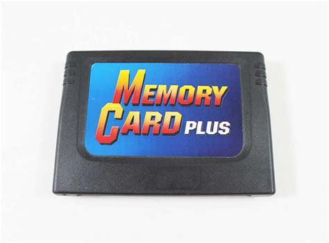 used sega saturn memory card plus