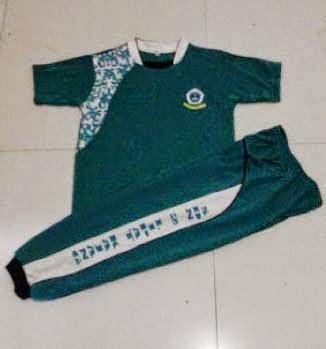 Baju Kaos Olahraga Lengan Pendek desain model kaos olahraga sekolah terbaru rusman makkasau