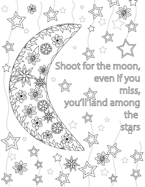 printable coloring pages for adults quotes inspirational quotes a positive uplifting by