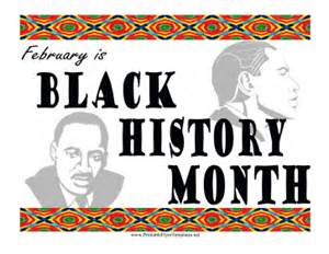 black history program sample flyers pictures to pin on